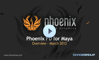 Phoenix FD for Maya - Tutorial