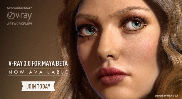 V-Ray 3.0 for Maya beta Now Available