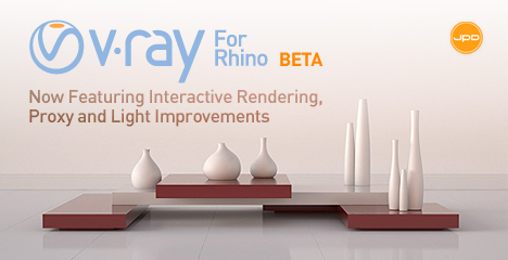 New V-Ray for Rhino tutorials and materials available - Mad